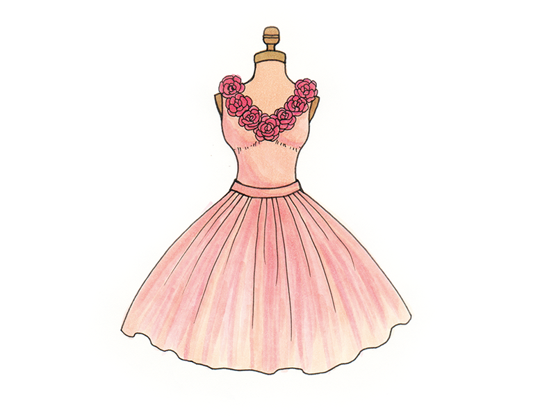 pink princess ballett tutu dress