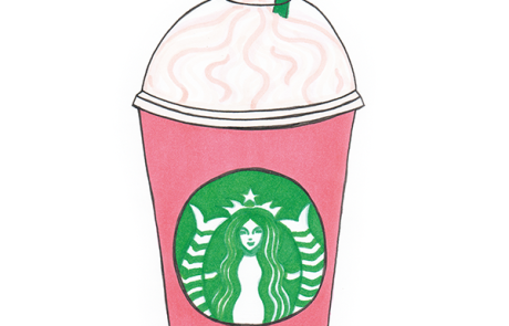 pink starbucks drink