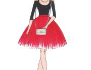 Fashion business fashionista fashion blogger portrait