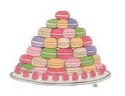 macaron pyramid